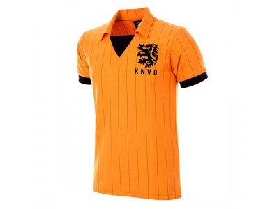 Holland 1983 Retro Trøje - NL Football Shirt