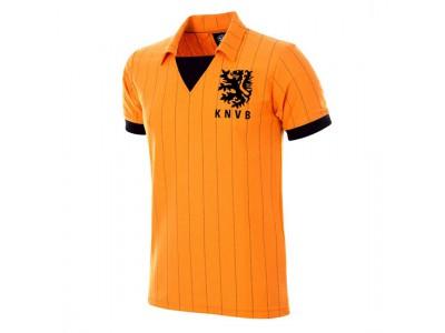 Holland 1983 Retro Trøje - NL Football Shirt