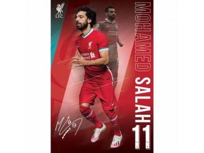 Liverpool plakat - LFC Poster Salah 1