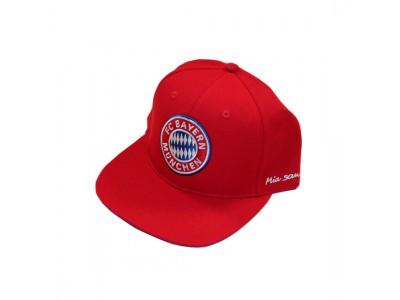 FC Bayern kasket flat cap - rød