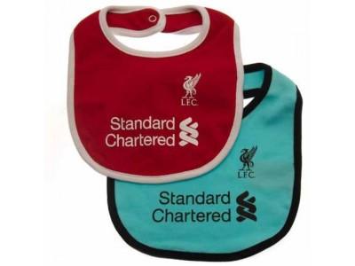 Liverpool hagesmæk - LFC 2 Pack Bibs GR