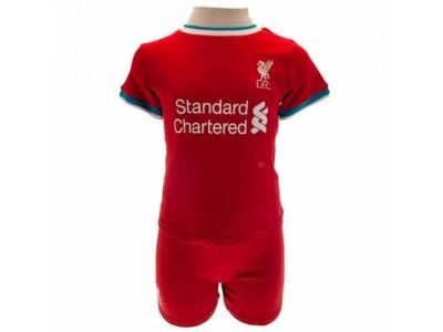 Liverpool baby sæt - LFC Shirt & Short Set 9/12 Months GR