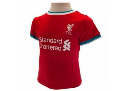 Liverpool baby sæt - LFC Shirt & Short Set 6/9 Months GR
