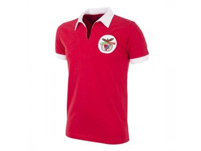 SL Benfica 1962 - 63 Retro Trøje - SLB Football Shirt