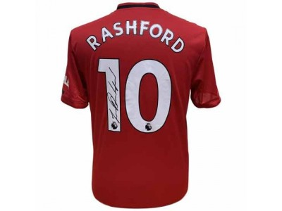 Manchester United trøje - MUFC Rashford Signed Shirt