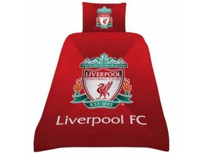 Liverpool sengetøj - LFC Single Duvet Set GR