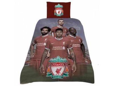 Liverpool sengetøj LFC Single Duvet Set Players