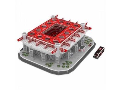AC Milan byggesæt - 3D Stadium Puzzle