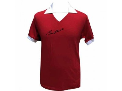Manchester United trøje - MUFC Charlton Signed Shirt
