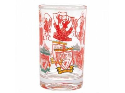 Liverpool glas - LFC Retro Crest Small Glass