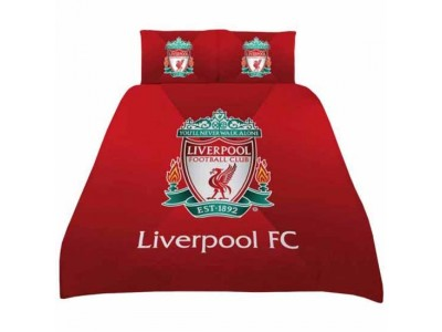 Liverpool sengetøj dobbelt - LFC Double Duvet Set GR