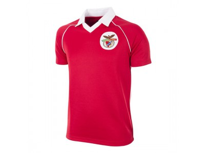 SL Benfica 1983 - 84 Retro Trøje - SLB Football Shirt
