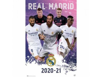 Real Madrid plakat spillere - RMFC Poster Players 23