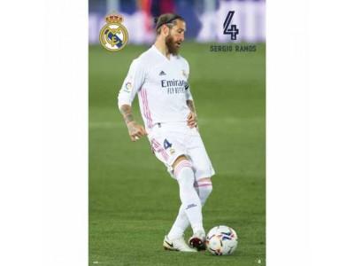 Real Madrid plakat Sergio - RMFC Poster Ramos 26