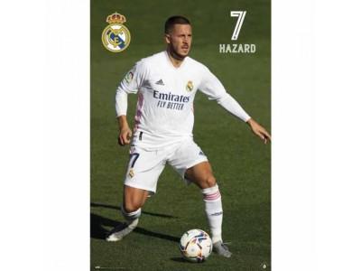 Real Madrid plakat - RMFC Poster Hazard 24