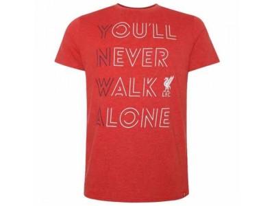 Liverpool t-shirt - LFC YNWA T Shirt Mens Red - L