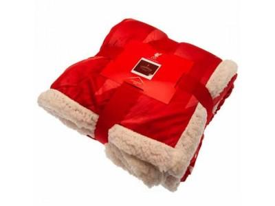 Liverpool tæppe - LFC Sherpa Fleece Blanket