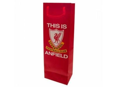 Liverpool gavepakke flaske - LFC Bottle Gift Bag