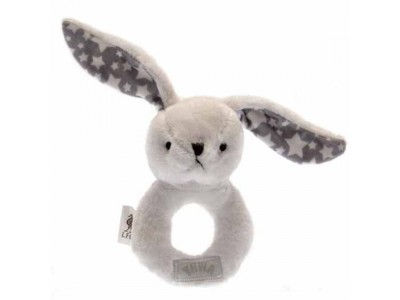 Liverpool rystekanin - LFC Baby Rattle Rabbit