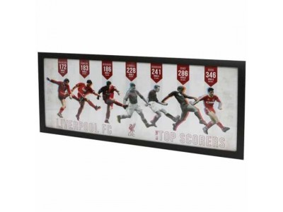 Liverpool billede i ramme - LFC Top Goal Scorers Framed Picture