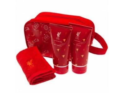 Liverpool toilettaske - LFC Junior Washbag Gift Set - børn