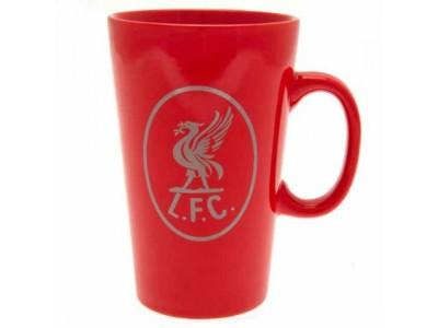 Liverpool krus - LFC Silver Decal Mug