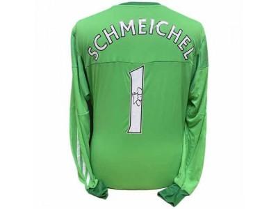 Manchester United trøje autograf - MUFC Schmeichel Signed Shirt
