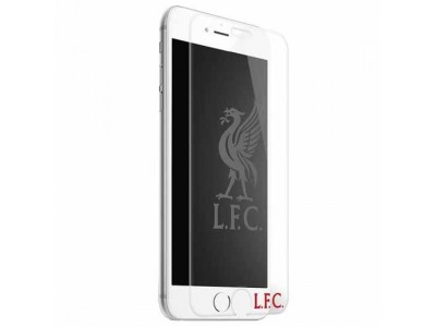 Liverpool glas beskytter - LFC iPhone 7 / 8 Tempered Glass Screen Protector
