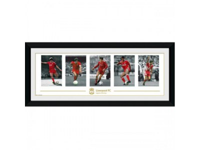 Liverpool FC billede - Picture Legends 30 x 12 inches
