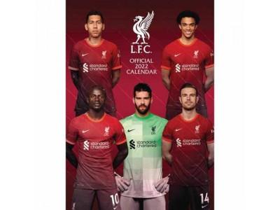 Liverpool kalender - LFC Calendar 2022