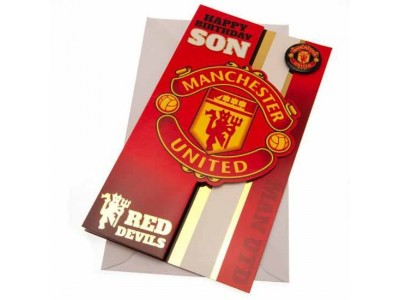 Manchester United kort søn - MUFC Birthday Card Son