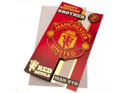 Manchester United kort bror - MUFC Birthday Card Brother