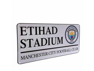 Manchester City FC Street Sign