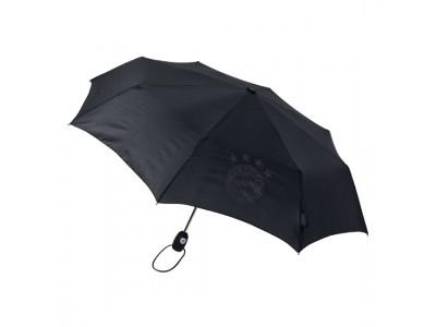 FC Bayern Munchen paraply - FCB Pocket Umbrella black