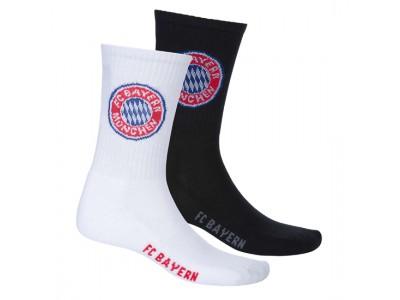 FC Bayern Munchen Sports Socks (Set of 2)