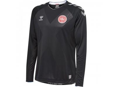 Danmark målmandstrøje L/Æ VM 2018 - sort