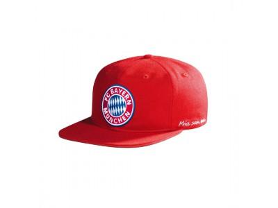 FC Bayern Munchen kasket - FCB Snapback Cap Kids Logo red - børn