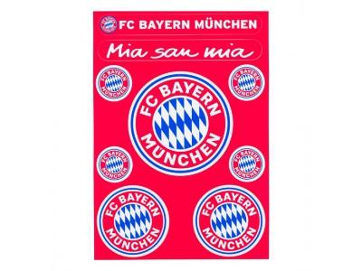 FC Bayern Munchen klistermærke - Sticker card logo