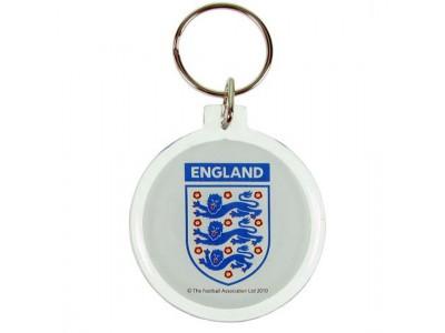 England nøglering - FA Acrylic Crest Keyring