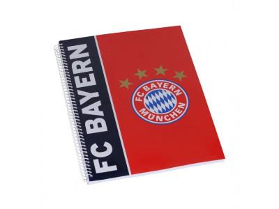 FC Bayern Munchen notesbog - Spiral Notebook DIN A4