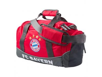 FC Bayern Munchen sportstaske - FCB Sports Bag small red