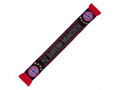 FC Bayern Munchen halstørklæde - FCB Scarf Black - sort