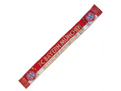 FC Bayern Munchen halstørklæde - FCB Scarf Rekordmeister