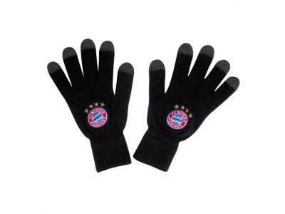 FC Bayern Munchen handsker - Knitted Gloves Logo Touch