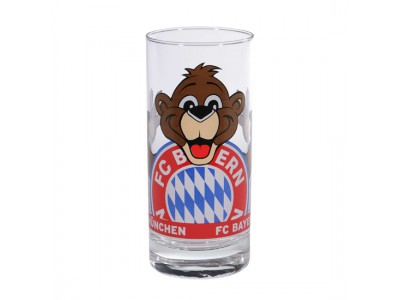 "FC Bayern Munchen glas  - FCB Glass ""Berni"""