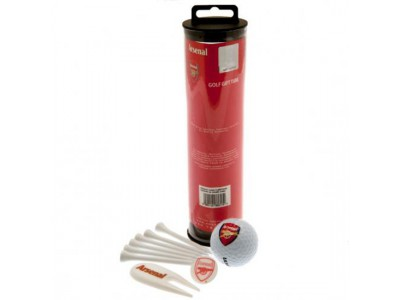 Arsenal golf gave sæt - Golf Gift Tube
