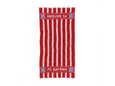 FC Bayern Munchen håndklæde - Towel Large red/white