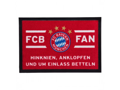 "FC Bayern Munchen dørmåtte - Doormat ""Hinknien"""