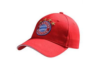 FC Bayern Munchen kasket Logo red