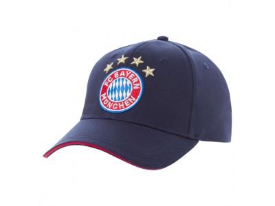 FC Bayern Munchen kasket - FCB cap Logo navy